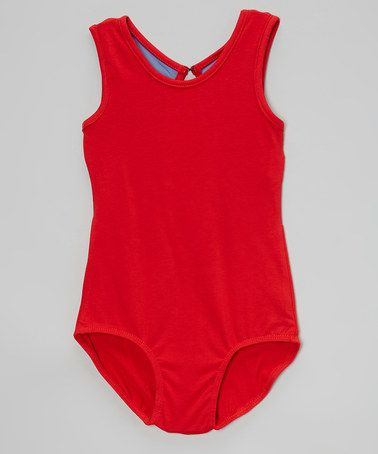 7caae8235 Another great find on  zulily! Red   Royal Blue Key Hole Leotard ...