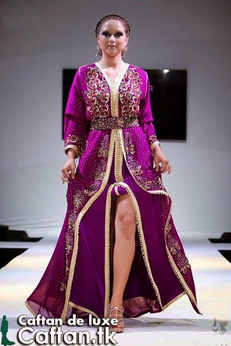 caftan marocain indescriptible