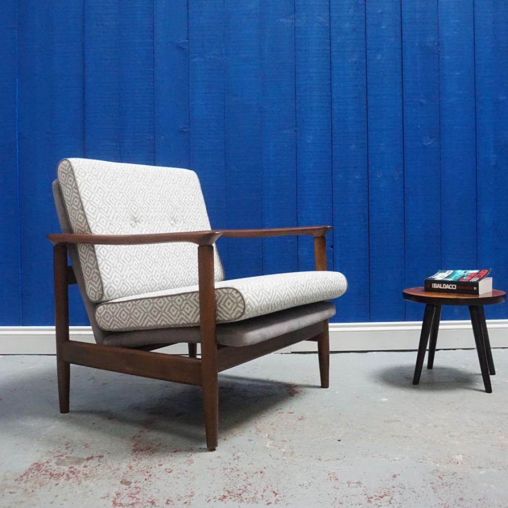 mid century modern club chair by e homa 1960 s 93274 in 2019 rh pinterest com