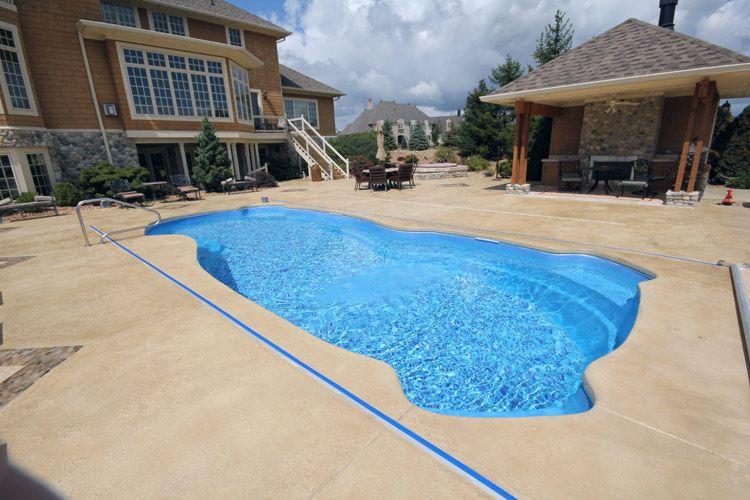 concrete pool deck from elite crete indiana | exterior concrete