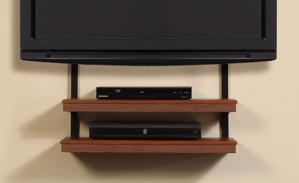 Modern Design Living Room With Altra Quick Mount Wall Tv Stand And
