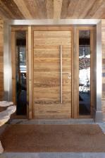 rnovations wood concept megeve chalets vieux bois - Porte De Chalet En Bois