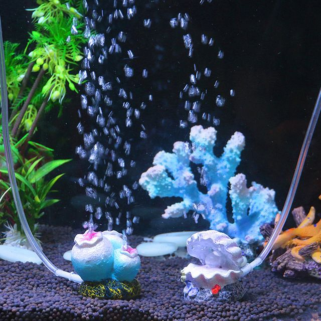 Aquarium Landscaping Air Bubble Coral Tank Fish Air Stone Ornament  Oxygen Pump