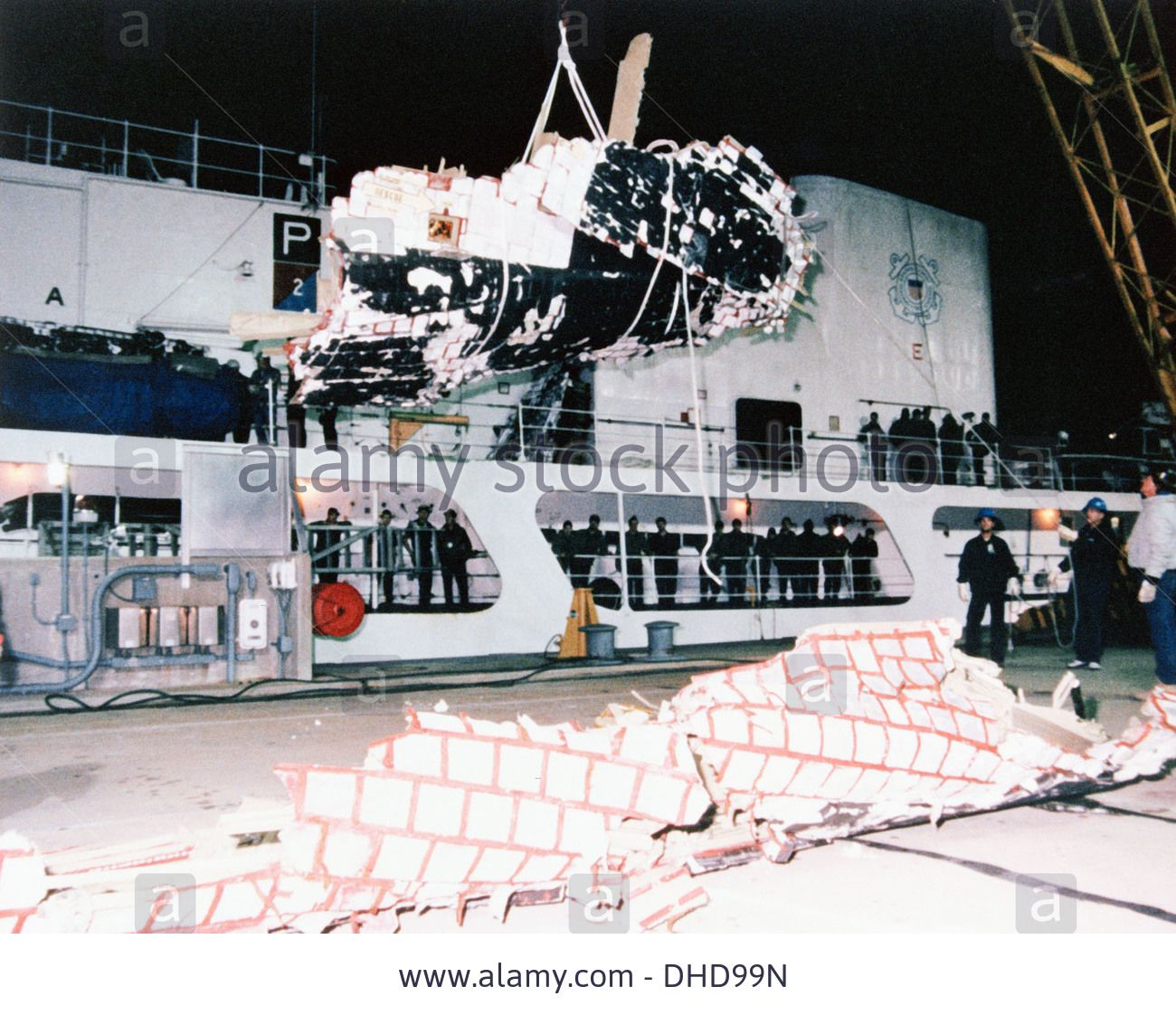 Wreckage From The Space Shuttle Challenger Sts 51l Mission
