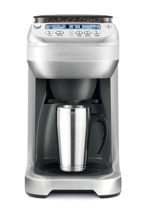 cafetière filtre avec broyeur Riviera   Bar CF 865A   Projet 2 ... ff70ab1d252d