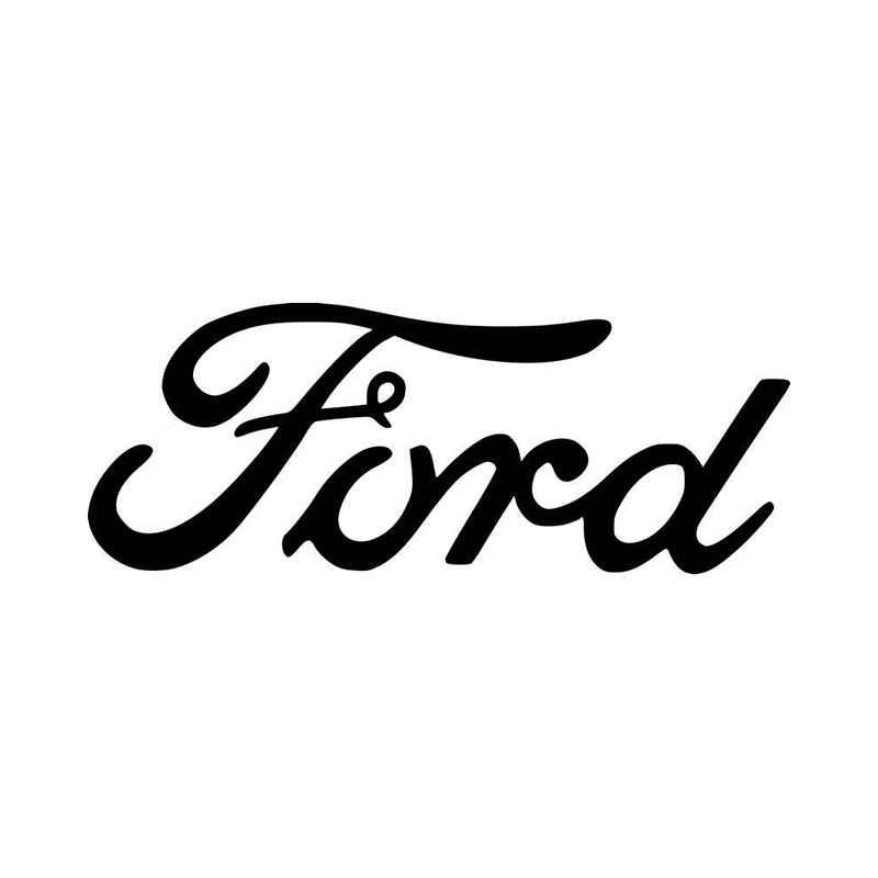 Ford Script Logo Vinyl Decal Sticker With Images Logo Sticker