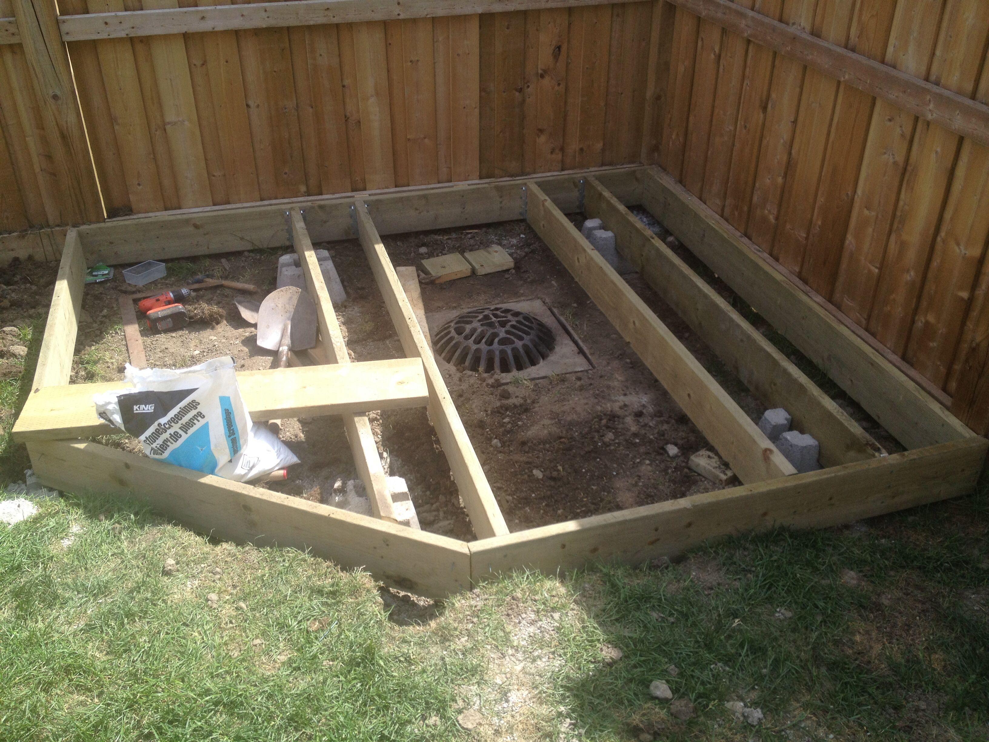 Hiding A Storm Drain Catch Basin Kid Friendly Backyard Backyard Projects Dream Backyard