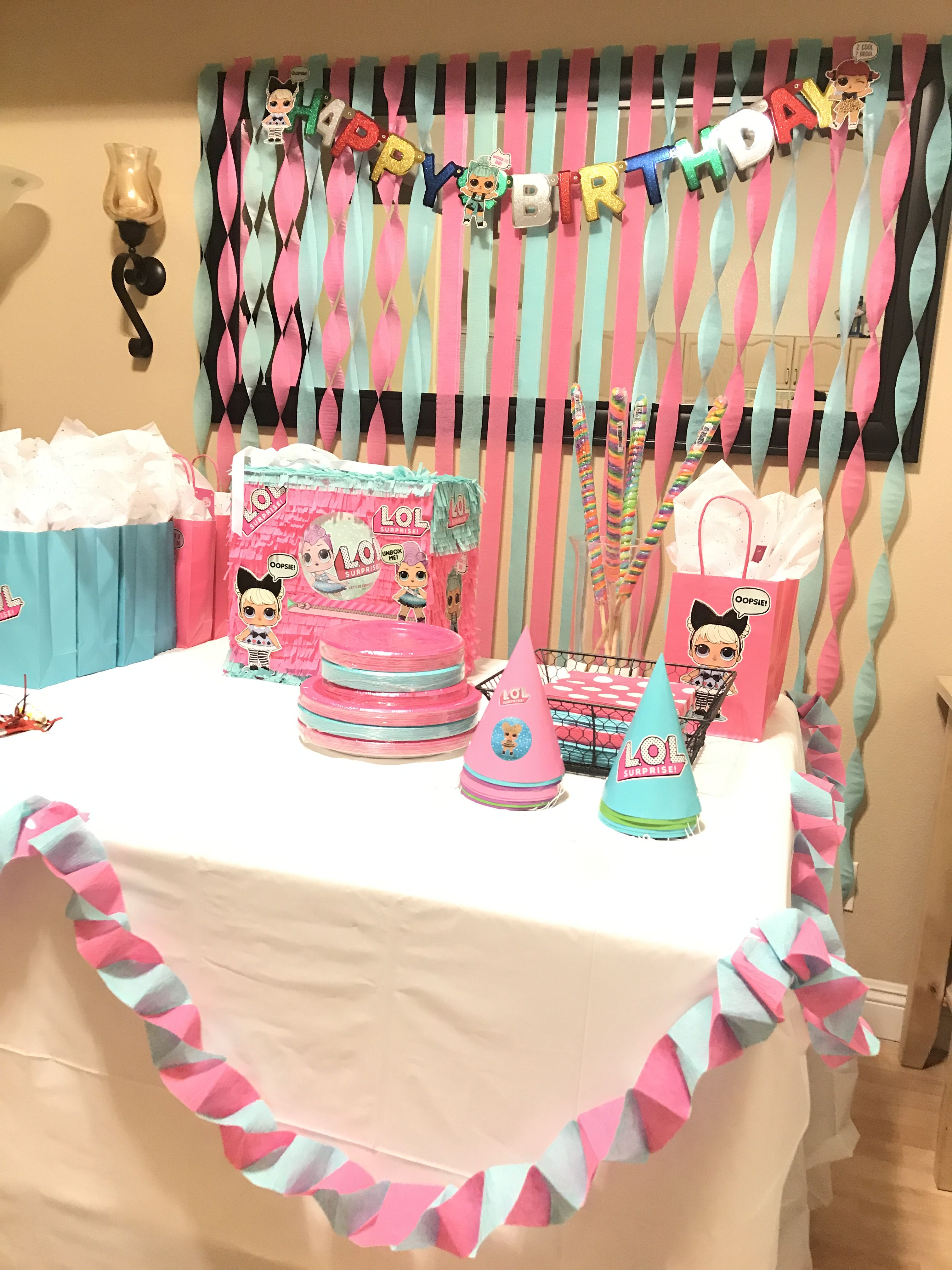 Pin By Miriam Toledo On Lol Doll Surprise Party Ideas