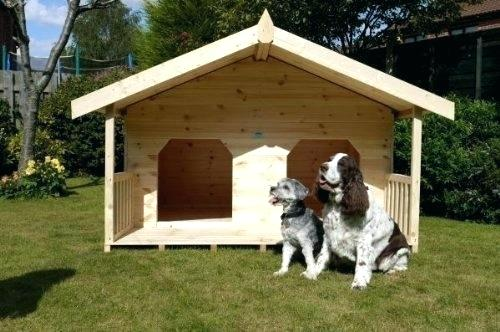 Cheap Dog Houses For Big Dogs Duplex House Double 2 Large Dog House Diy Big Dog House Dog Houses