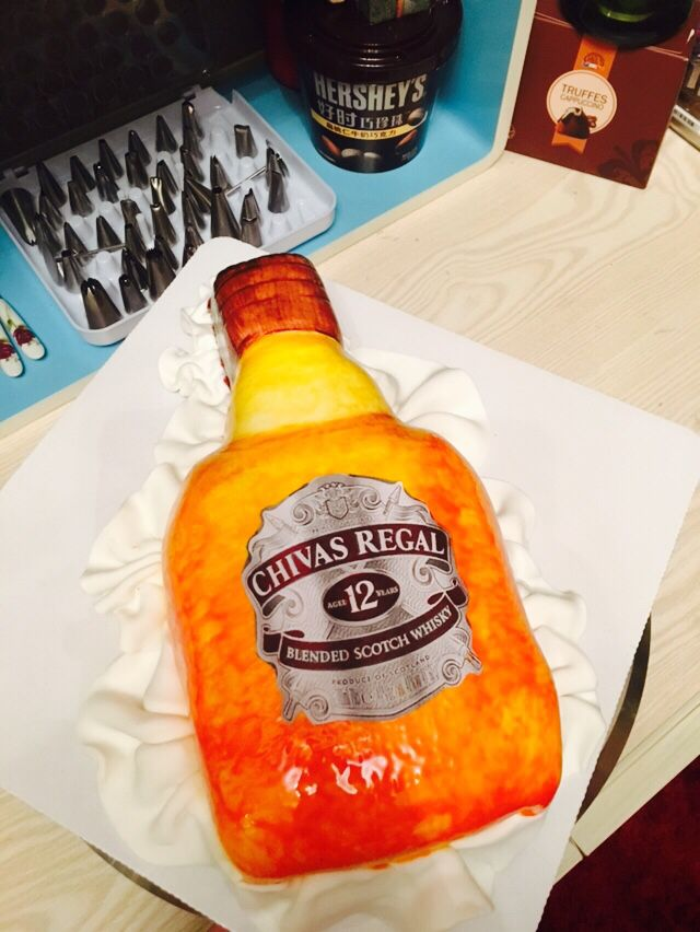 Chivas regal cake