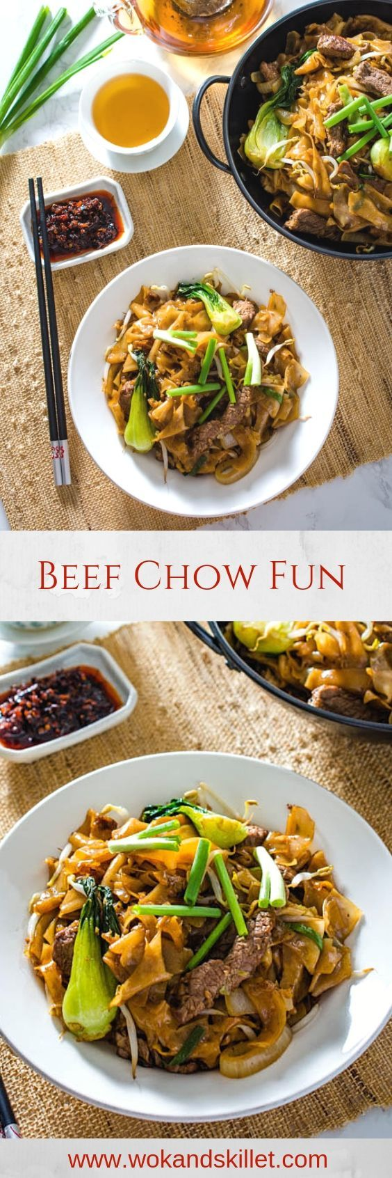beef chow fun  recipe  beef recipes dinner food recipes