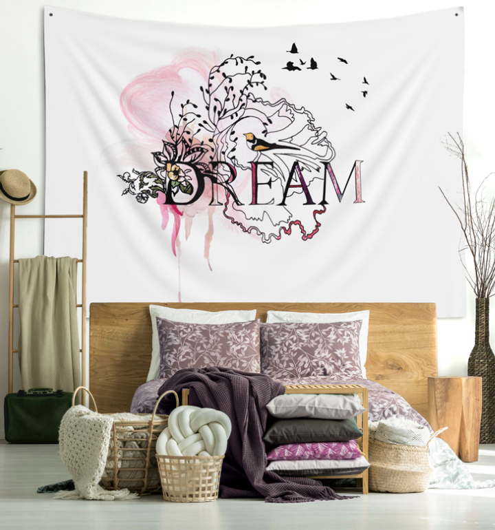 Bohemian Bedroom Decor Wall Tapestry Above Bed Decor Bedroom Wall Tapestry Boho Wall Hanging Large Bedroom Wall Art Dream Wall Art Bohemian Bedroom Decor Wall Decor Bedroom Above Bed Decor #wall #tapestry #for #living #room