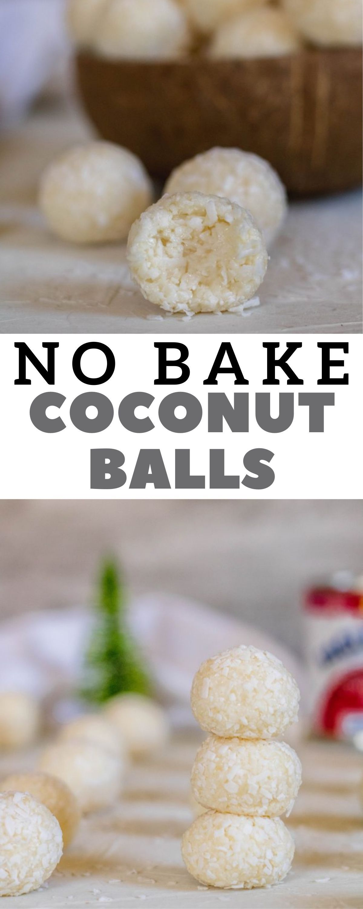2 Ingredient No Bake Coconut Balls Lifestyle Of A Foodie Recipe Holiday Favorite Recipes Best Dessert Recipe Ever Dessert Recipes Easy