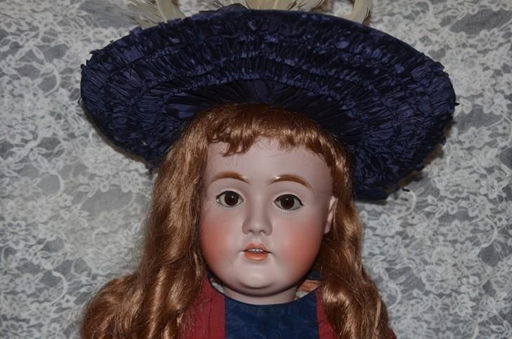 """Antique Doll Kestner LARGE 142 Big and Beautiful 36"""" Tall"""