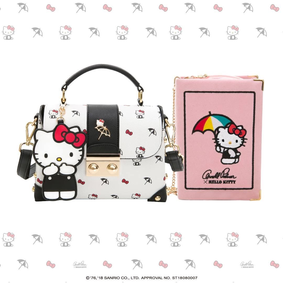 23327abf9 Hello Kitty x Arnold Palmer handbags (*´∀`*) | Sanrio <3 | Hello ...