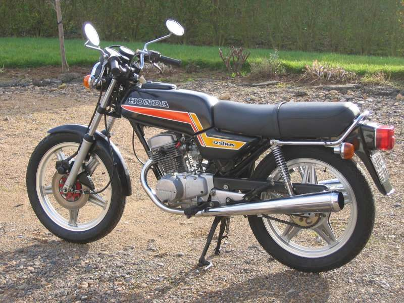 honda cb 125 twin my first motorcycle 1982   Honda   Honda