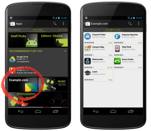 Google Play adds Private channel hosting for internal