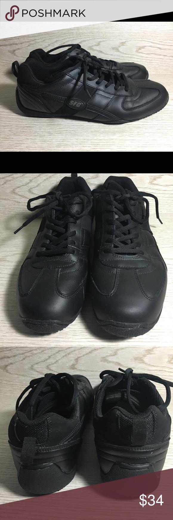 Shoes for Crews Men's Shoes Black 11M Non Slip | Mens shoes black, Black  shoes, All black sneakers