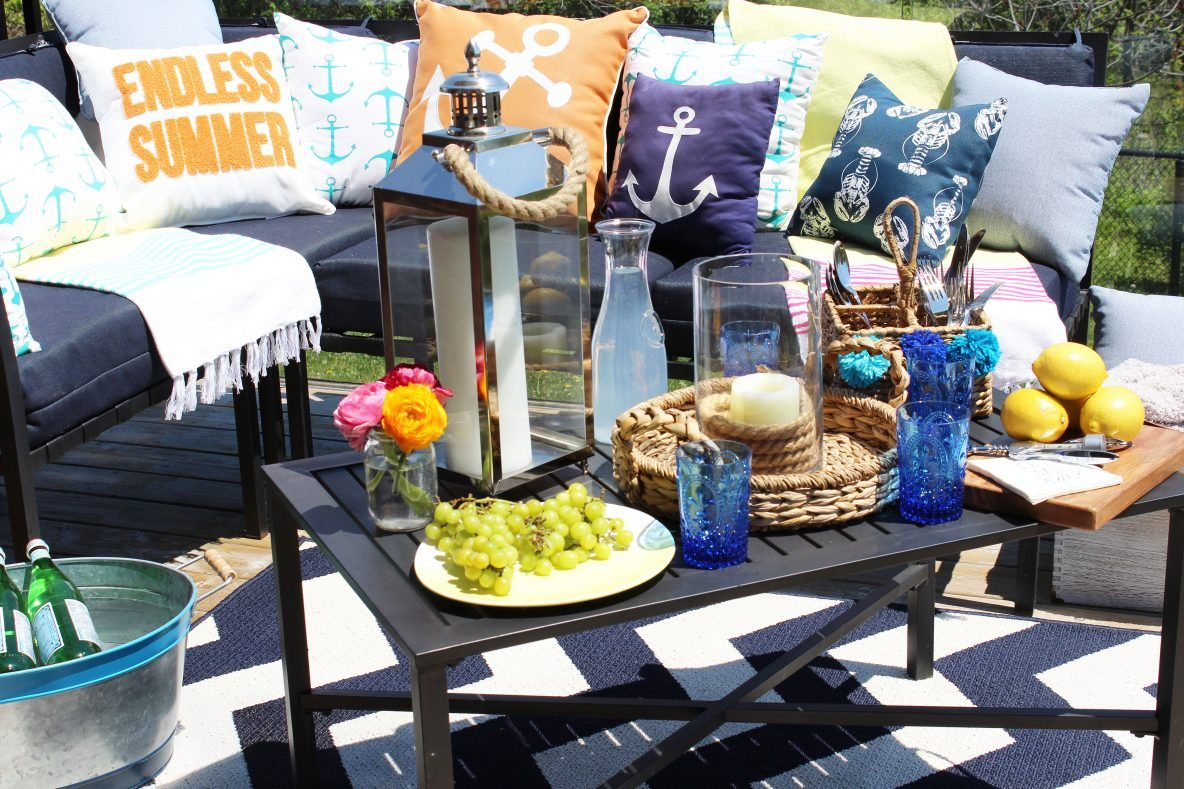 Patio With The Help Of Homesense