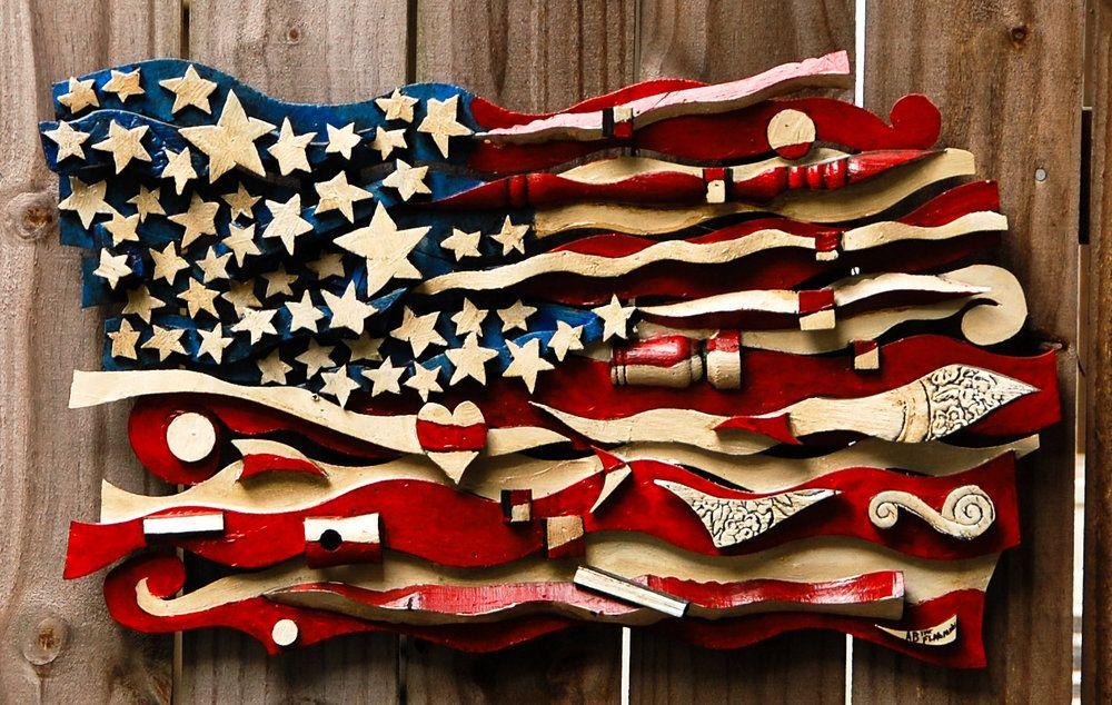 American Flag Art