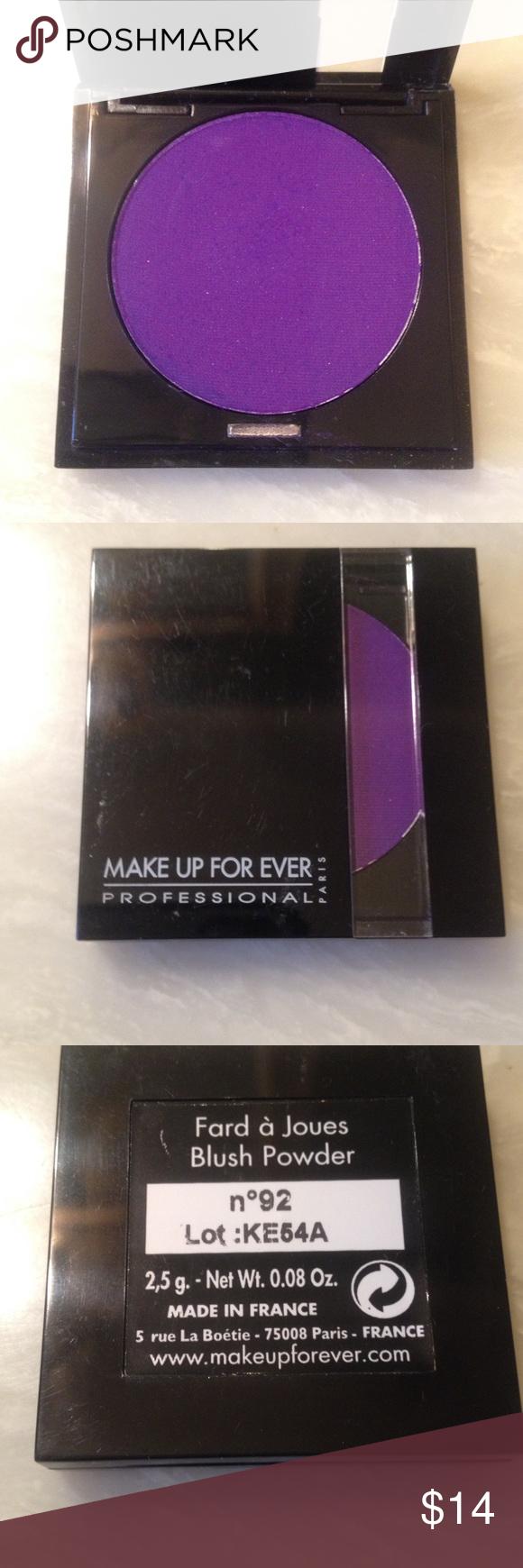 Makeup Forever Eyeshadow Purple Makeup forever eyeshadow