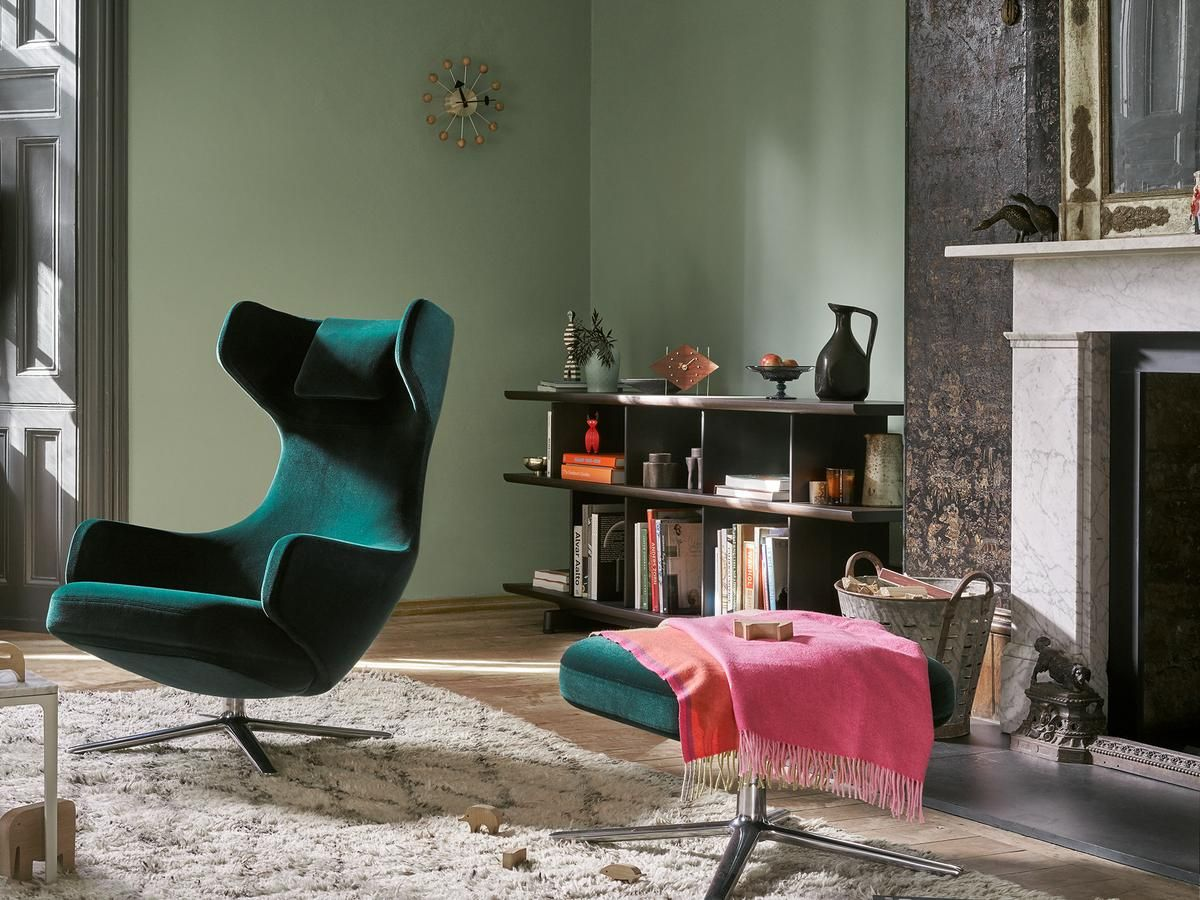 New Vitra Grand Repos Velours Winter Promotion von Antonio Citterio Designerm bel von smow