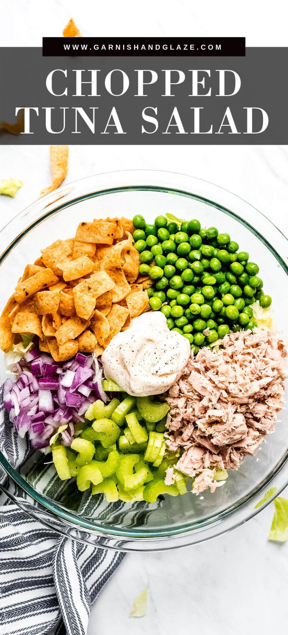 Tuna Salad Recipe With Veggies