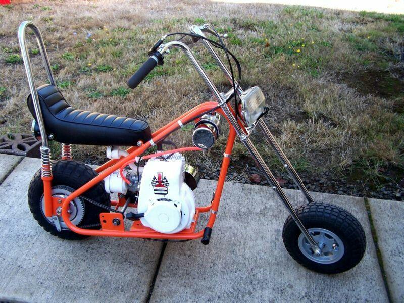 Bonanza Chopper Minibike Mini Bike Mini Motorbike Motorcycle Camping Gear