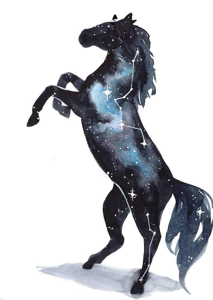 прост картинки лошадь космос что потом еще