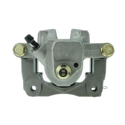 Disc Brake Caliper-Premium Semi-Loaded Caliper Housing and Bracket Rear Right