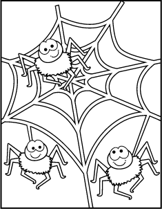 Free Printable Halloween Coloring Pages Spider Coloring Page Halloween Coloring Halloween Coloring Pages