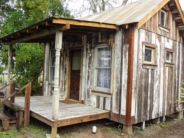 Tiny Texas House From Reclaimed Lumber. So Adorable! The Quality Of These Tiny  Texas