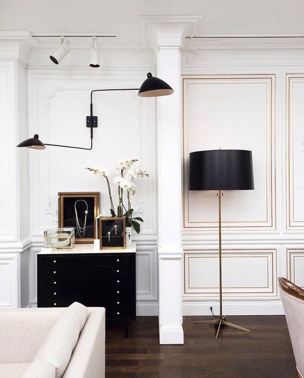 decorating rules inspired by Coco Chanel in   Decoration