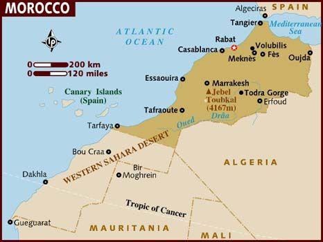Pin by lindsay reed on l e t s g o | Morocco map, Morocco tourism ...