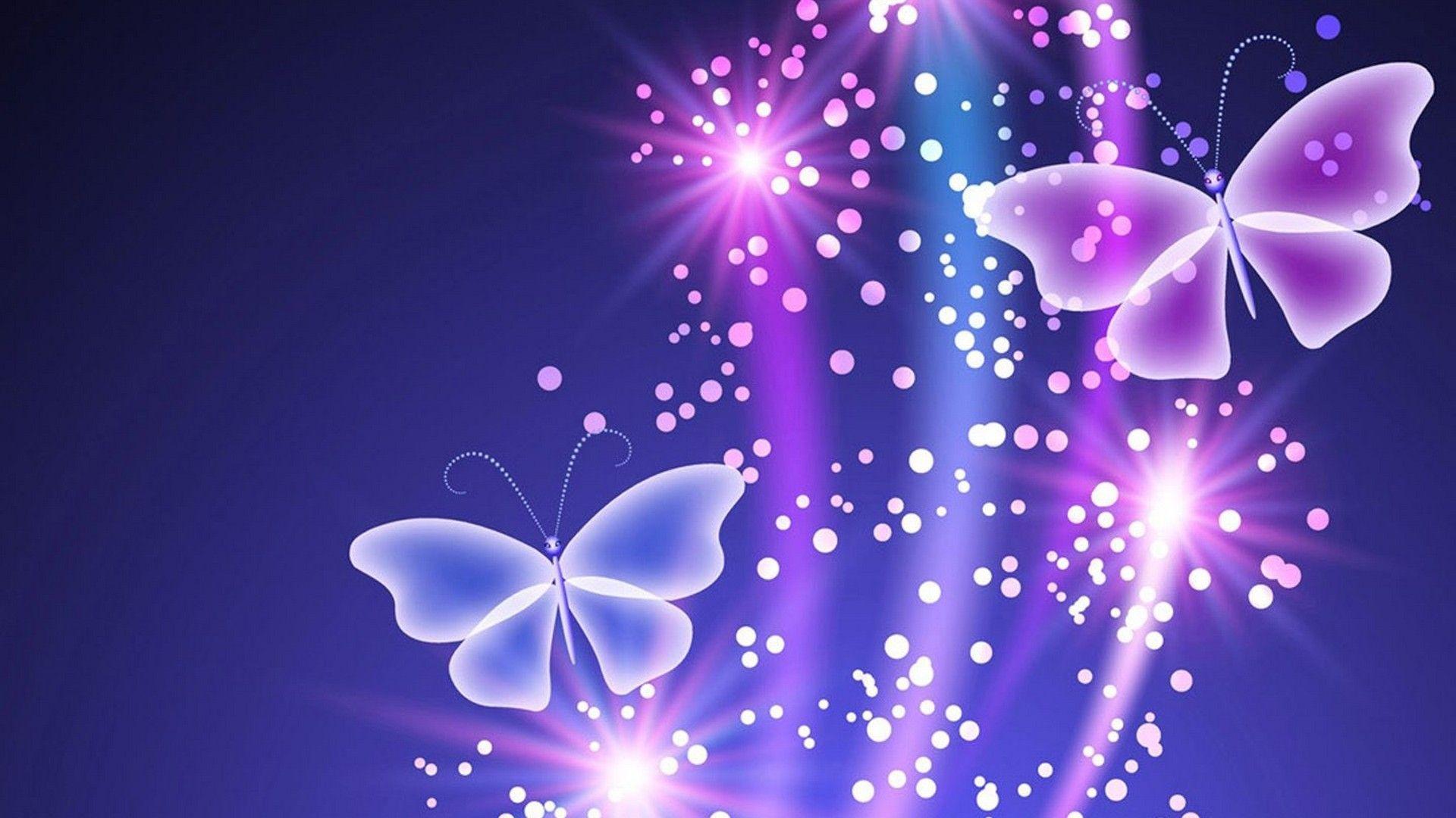 Purple Butterfly HD Backgrounds Butterfly wallpaper