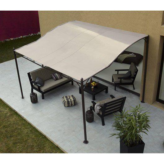 tonnelle autoportante chez leroy merlin jardin terrasse pinterest tonnelles acier et murale. Black Bedroom Furniture Sets. Home Design Ideas