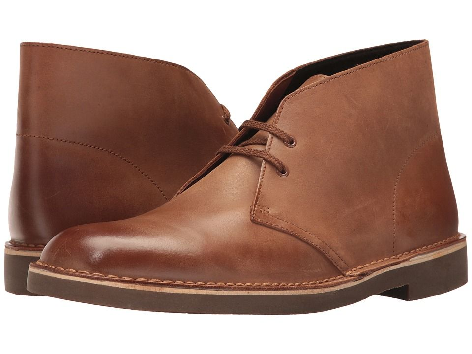 83c5d588b04 CLARKS CLARKS - BUSHACRE 2 (DARK TAN) MEN'S LACE-UP BOOTS. #clarks ...