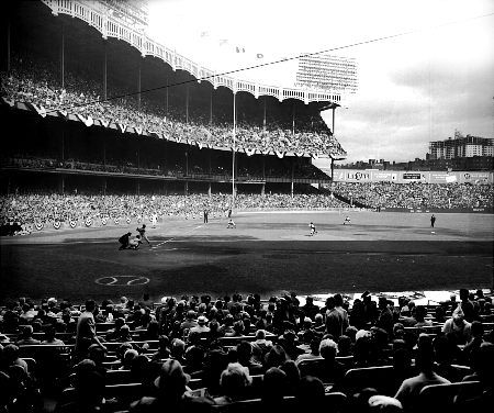 Old Yankee Stadium Yankee Stadium Baseball Photography Baseball Park