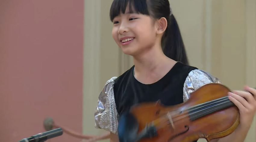 Chloe Chua Plays Ludwig Van Beethoven Astor Piazzolla Jeno Hubay Menuhin Competition 2018 Junior Semi Final Hd 108 Young Musician Violin Student Recital
