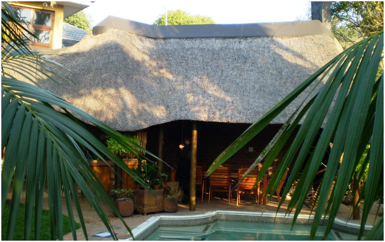 Thatch Of The Day Thatch Lapa Braai Outdoor Entertainment Area Designs Outdoor Entertaining Area Outdoor Entertaining Outdoor Backyard modern lapa designs
