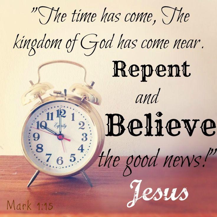 Mark 1 1 >> Mark 1 15 Obedience To God Matthew 24 Word Of God