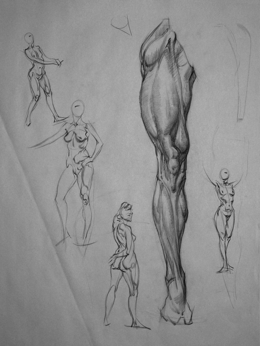 E. M. Gist Illustration/ Dead of the Day: Quick Sketch and Anatomy ...