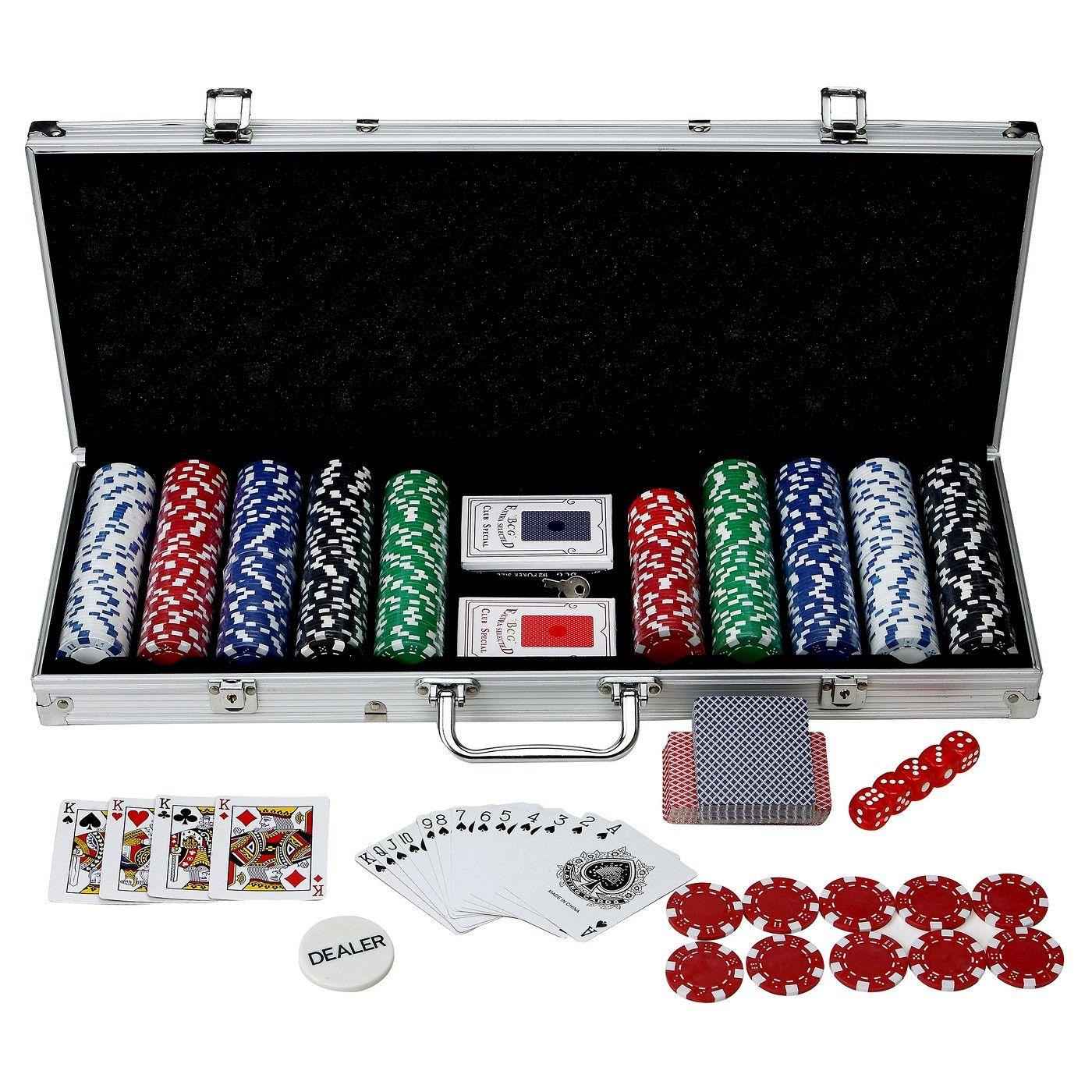 Hathaway monte carlo 500 piece poker set image 1 of 6