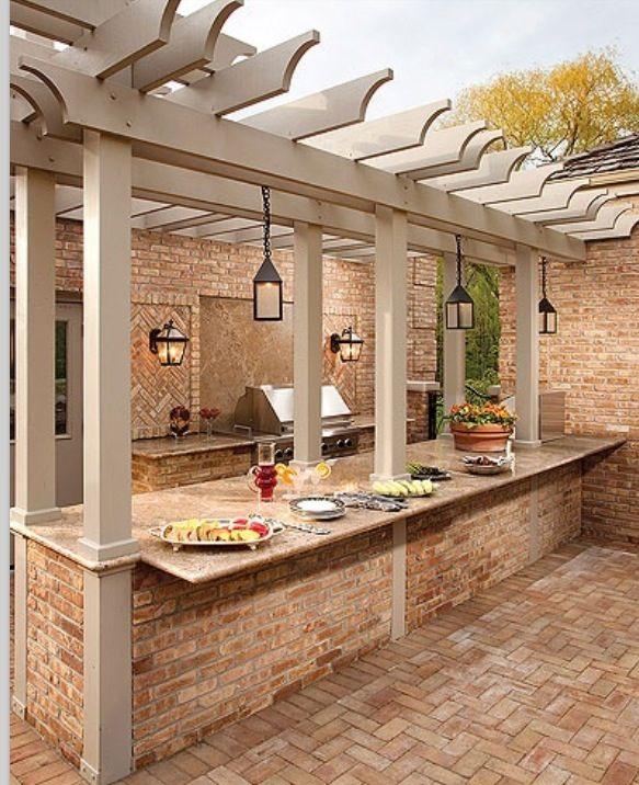 Outdoor Kitchen Lighting Design: The Pergola And Lighting