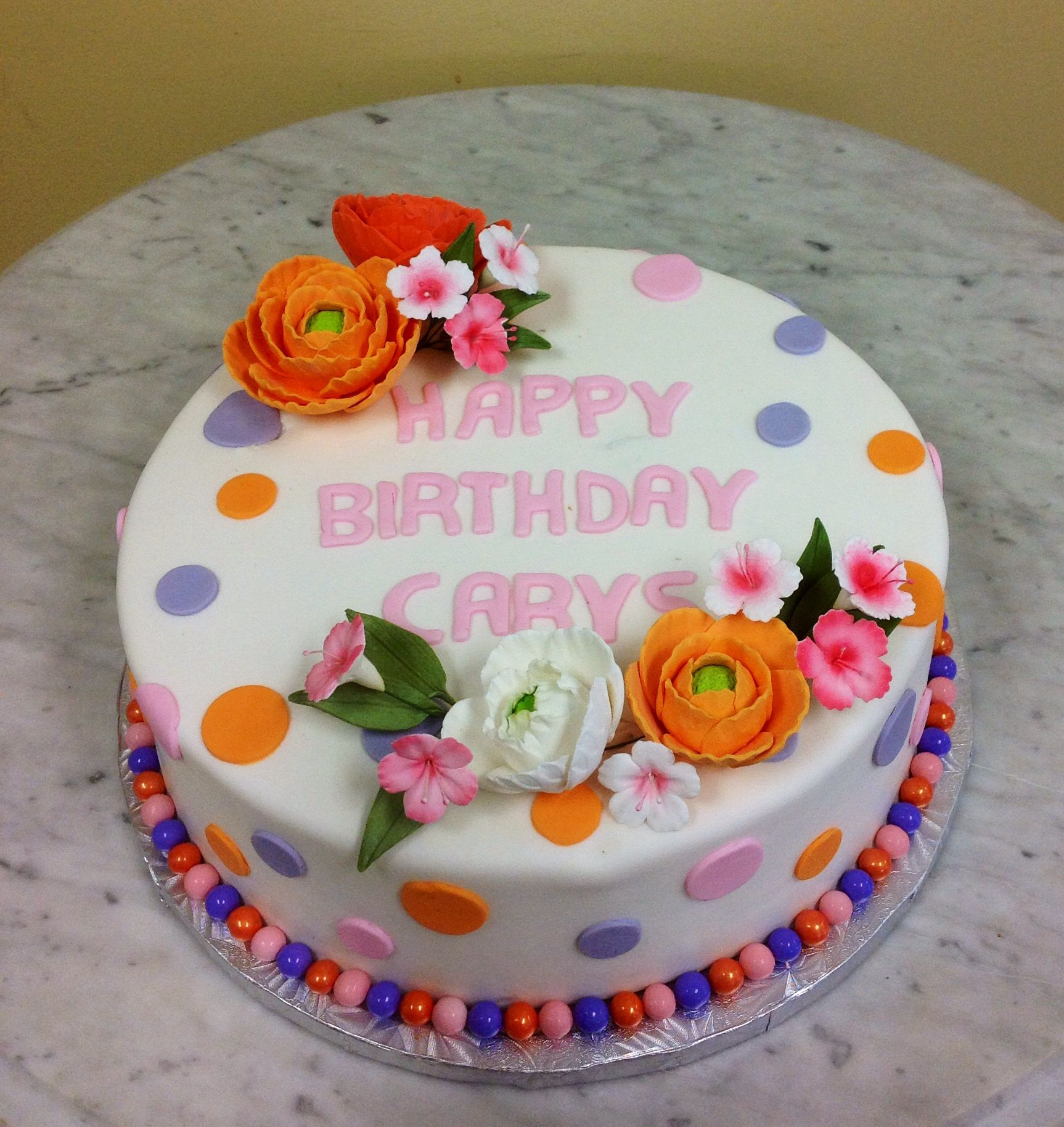 Flower cake cake specialty cakes yummy treats