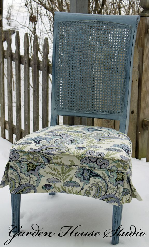 Love This Skirted Chair Pad!
