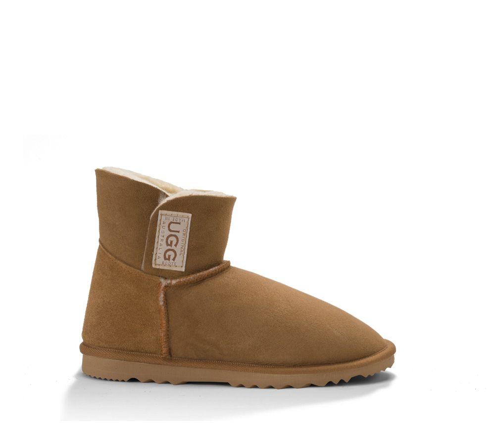 e65b1f875ff Chestnut Mini Velcro UGG Boots. Made in Australia by Original UGG ...