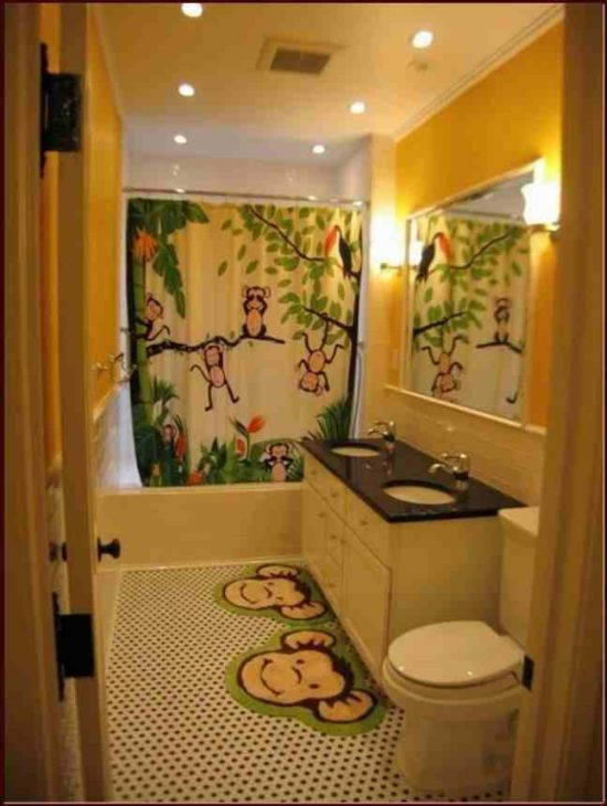 Playful And Colorful Kidsu0027 Bathroom Design Ideas