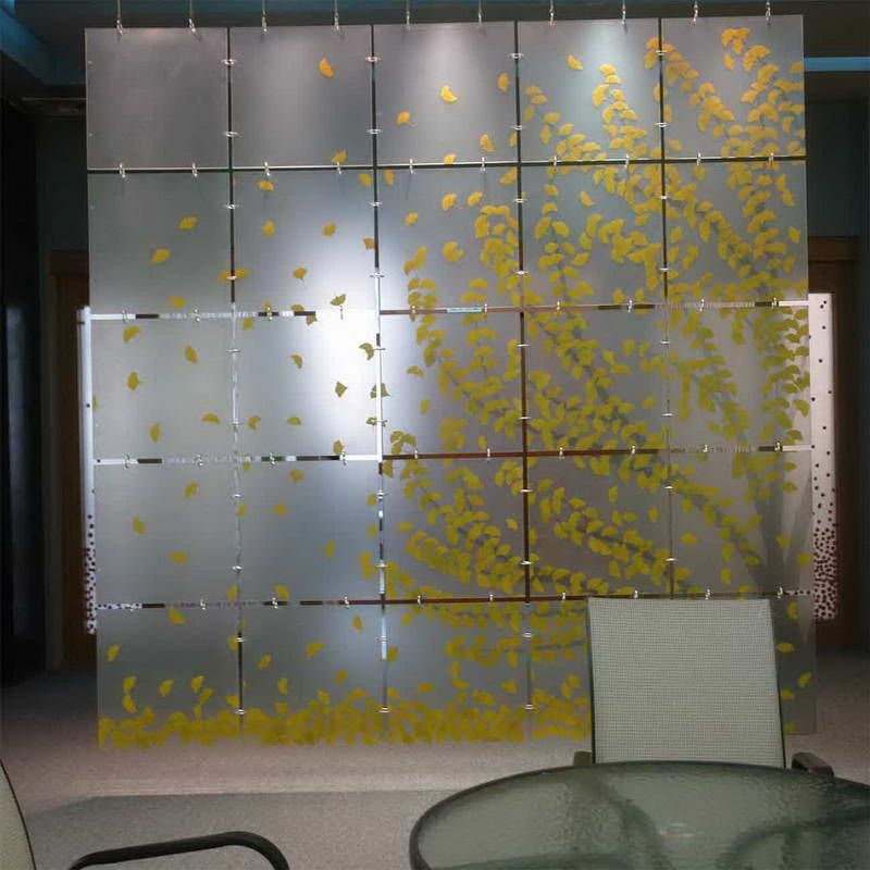 Acrylic Wall Panels With Table Design COULD EASILY REPLICATE DIY