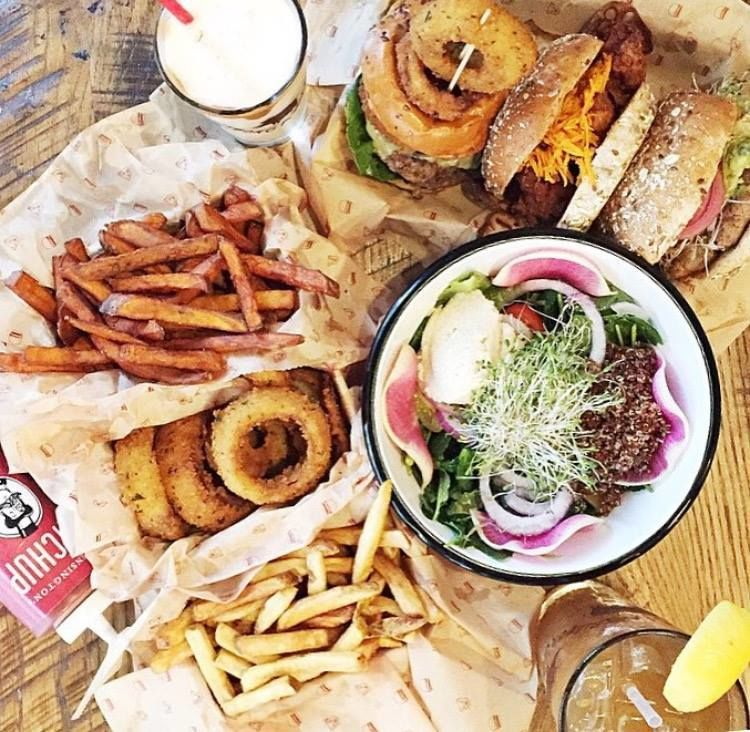 Healthy Alternative Burger Chains Bareburger Organic Recipes Healthy Alternatives Nyc Restaurants